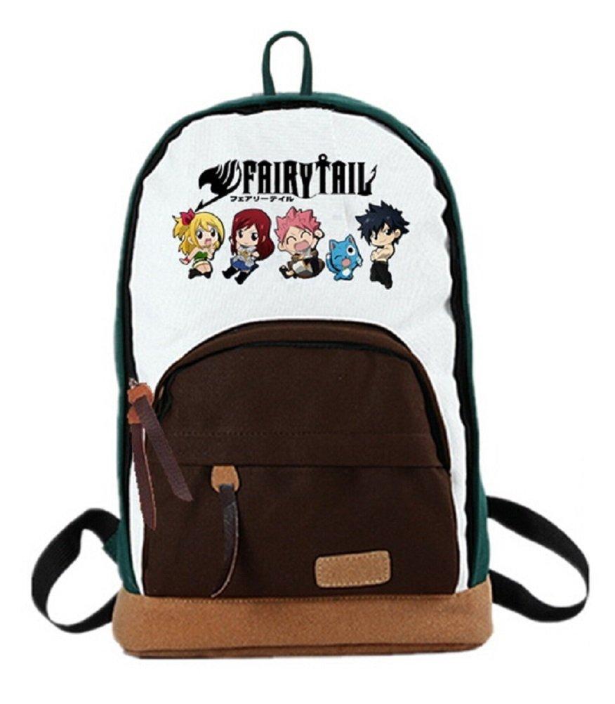 YOYOSHome Fairy Tail Anime Natsu Dragneelコスプレリュックサックバックパックスクールバッグ( 3スタイル) B015FGUGRU Fairy Tail