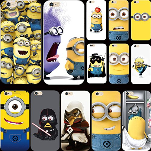 huge selection of b28ff fbcef New Design Silicon Painting Fierce Cover Despicable Yellow Minion Case For  Apple iPhone 4 iPhone 4S iPhone4S Cases Shell TDZ KDH