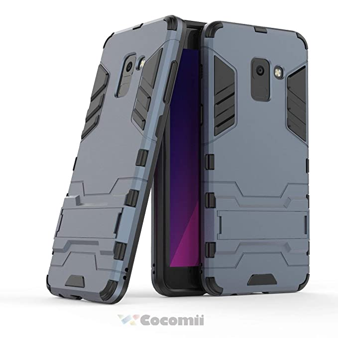 e3520e16691 Amazon.com: Cocomii Iron Man Armor Galaxy A8 2018 Case NEW [Heavy Duty]  Premium Tactical Grip Kickstand Shockproof Bumper [Military Defender] Full  Body Dual ...