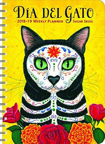 (Sugar Skull 2019 On-the-Go Weekly Planner: 17-Month Calendar with Pocket (Aug 2018 - Dec 2019, 5 x 7)