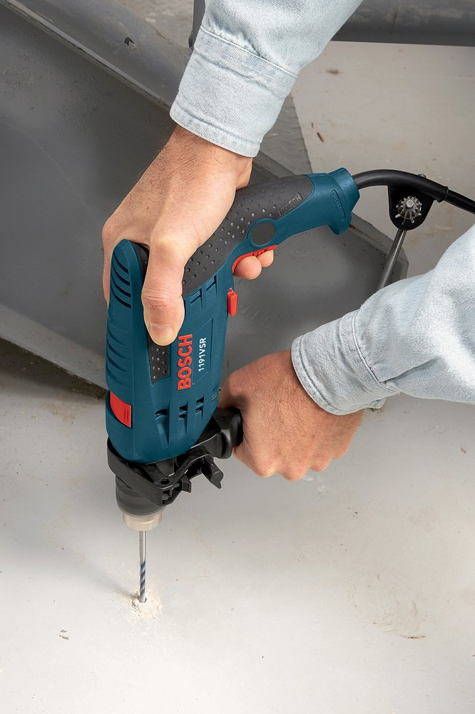 Bosch 1191VSRK 120-Volt 1/2-Inch Single-Speed Hammer Drill