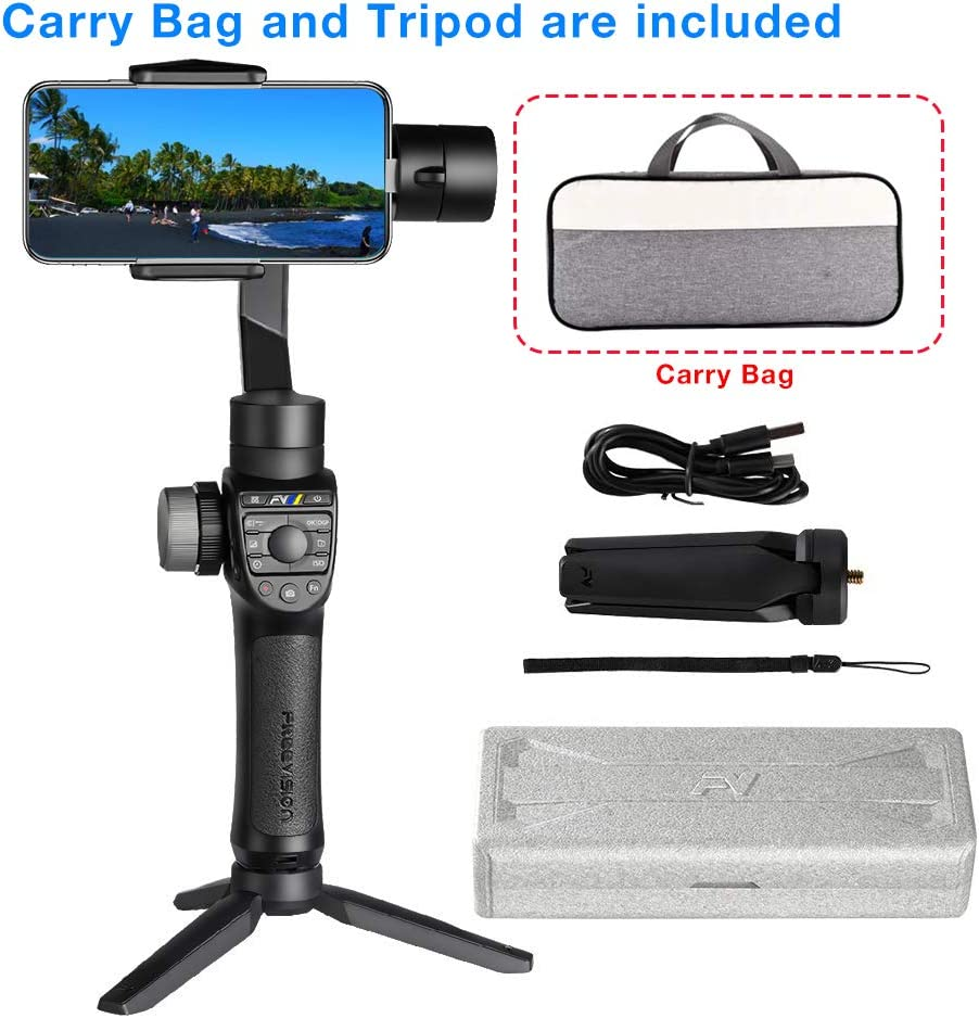 Freevision VILTA M Pro 3-Axis Stabilized Handheld Gimbal for Smartphone +Carry Bag and Tripod: Amazon.es: Electrónica