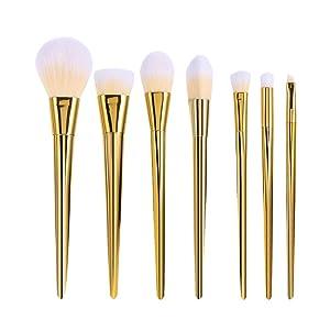 YOY Fashion Makeup Brush Set - Professional Kabuki Brushes Kit Foundation Blending Blush Contour Concealer Eyeliner Face Powder Cosmetics Beauty Tools