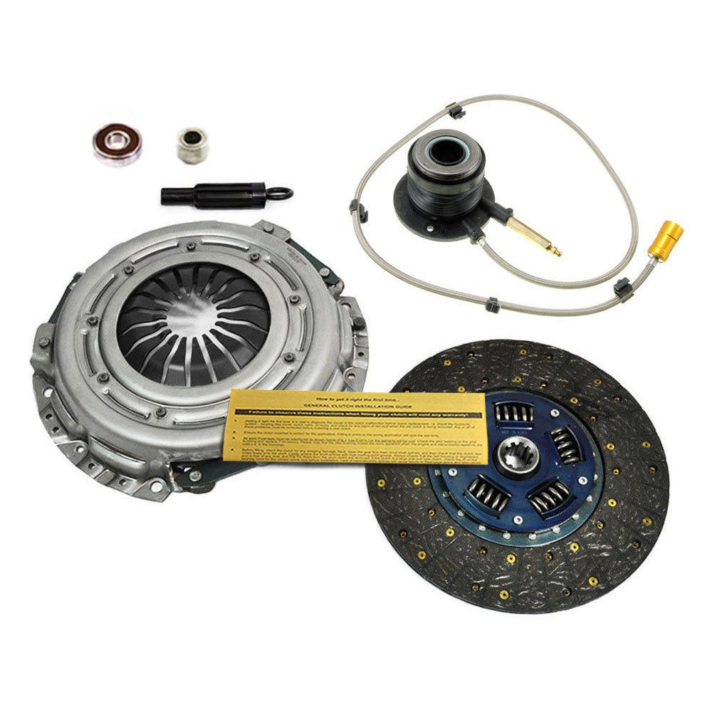 EFT HD Kit de embrague w/esclavo cilindros (modelos 03 - 07 Chevy Silverado GMC Sierra 1500 PICKUP 4.3L: Amazon.es: Coche y moto
