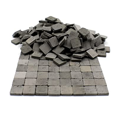 Sarina Crafts Clay Brick Pavement Stone Tiles for Dollhouse Models and Dioramas: Toys & Games