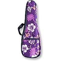 """Woodi USA 21"""" Ukulele Gig Bag WUC-21PT Padding Carry Case Waterproof Gig Bag for Soprano Uke"""
