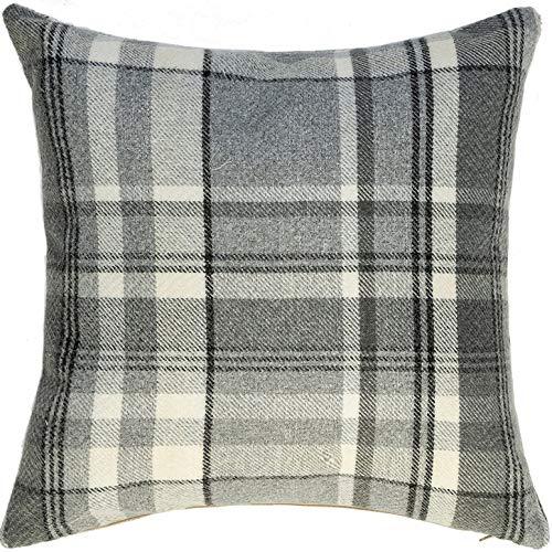McAlister Heritage Plush Woven Plaid Euro Sham Pillow Cover