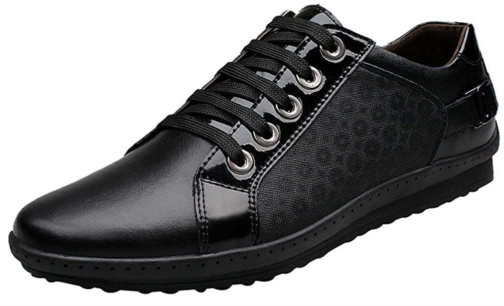 Salabobo QYY-A3 New Mens Casual Leather Light Weight Lace Up Smart Shoes
