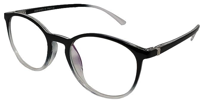 8ce28a0e5277 Elegant Black   Transparent Shaded Rim Wayfarer Style Unisex ...