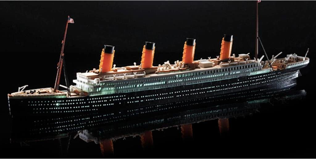 1860 Pezzi Titanic Modello Kit Custom Costruzione Titanic POXL Titanic Blocchi Modellino