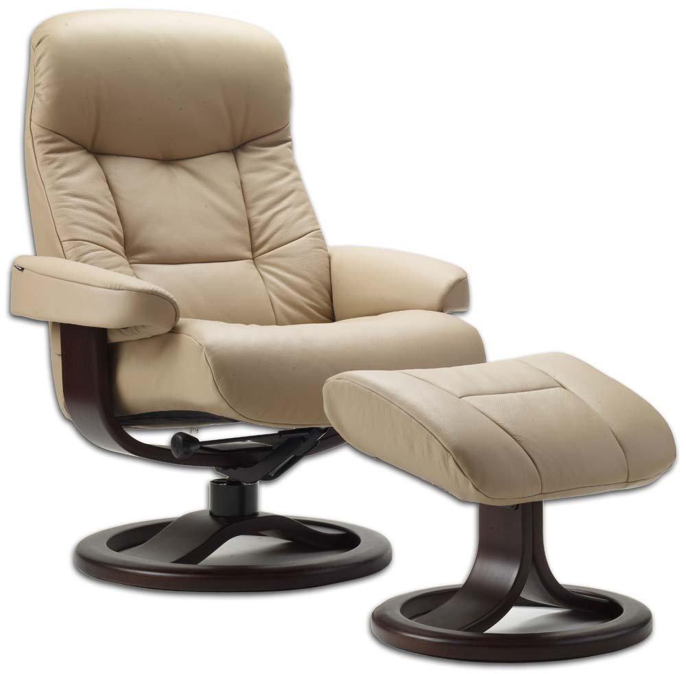 Amazon.com: Leather Norwegian Ergonomic Scandinavian Lounge ...