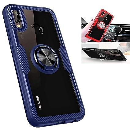 Amazon.com: Huawei P20 Lite, carcasa de silicona a prueba de ...