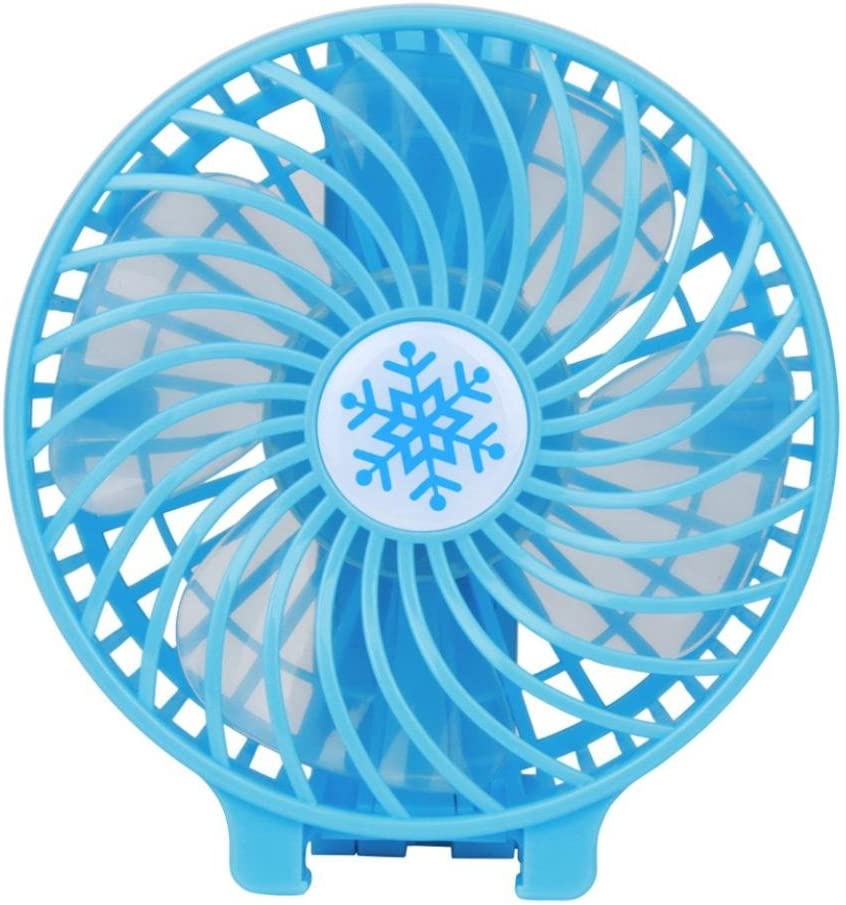 TAOtTAO Portable Rechargeable Fan Air Cooler Mini Operated Hand Held USB 18650 Battery