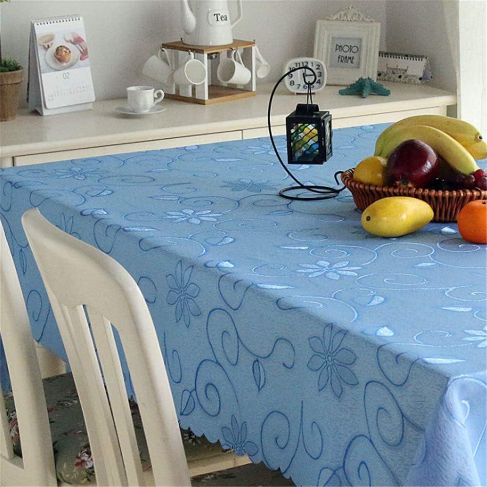 SONGHJ Mantel Jacquard de Lino y algodón poliéster Cocina Sala de Estar hogar Impermeable Cubierta de Mesa Rectángulo Boda Mantel de Navidad B 90x90cm / 35x35in: Amazon.es: Hogar