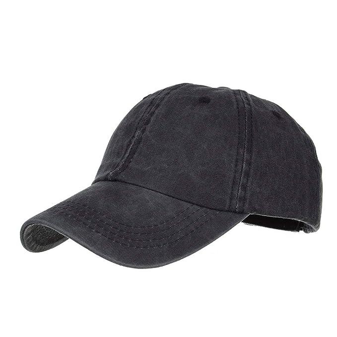 TWIFER Gorra de béisbol de algodón con Sombra de Sol para ...