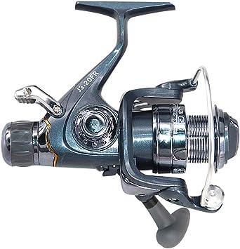 Lixada Carrete de Pesca Spinning 5BB con Frente Posterior Doble ...