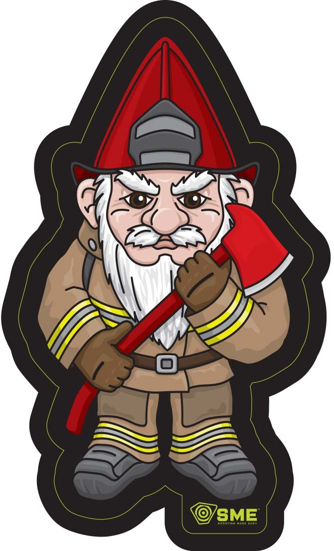 Amazon.com  SME Patch Firefighter Gnome  Sports   Outdoors 057cea9ba35