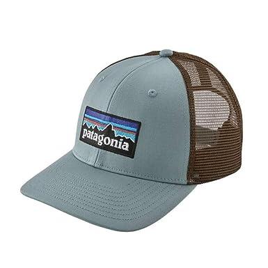 8f250d4cb21840 Amazon.com: Patagonia P6 Trucker Hat (Cadet Blue): Clothing