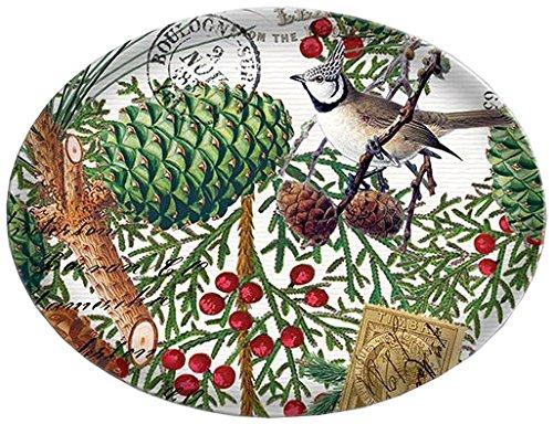 Michel Design Works Glass Soap Dish, Spruce Art Glass Soap Dish