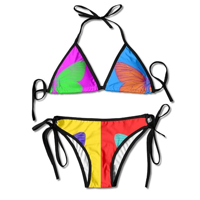 Alien Butterfly Bikini Traje De Baño De Verano para Mujer ...