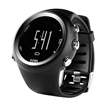 North Edge X-Trek Reloj GPS Cronómetro Digital Reloj Inteligente Reloj Velocidad de Ritmo Calorías Reloj de medición Reloj Impermeable para Correr: ...
