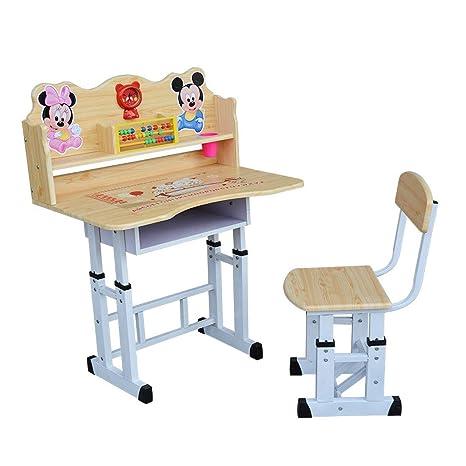 L.Z Mesa ergonómica para niños Silla de Escritorio Mesa inclinable ...