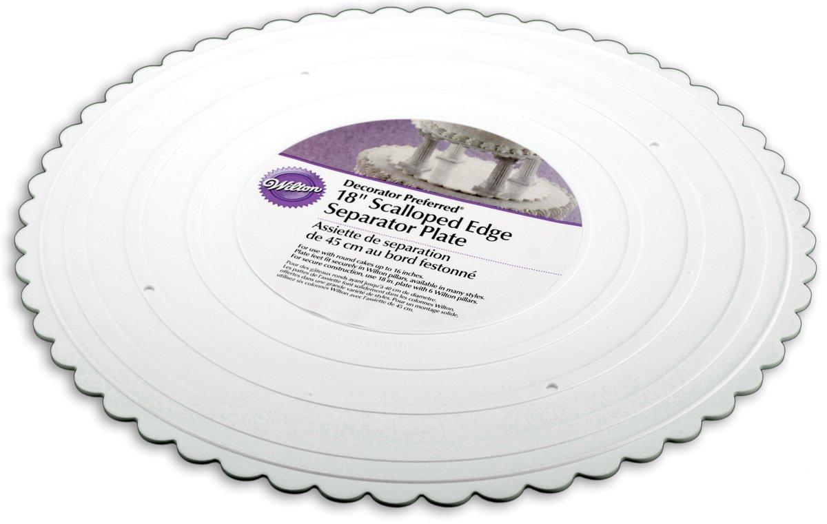 Wedding Cake Separator Plates