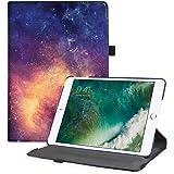 Fintie Custodia Compatibile con Apple Nuovo iPad 9.7 Pollici 2018 2017 / iPad Air 2 / iPad Air Cover in PU Pelle - Multi-angli Stand Custodia Protettiva Case con Auto Sveglia/Sonno Funzione, Galaxy
