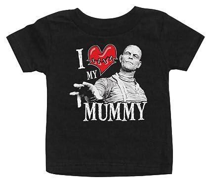 3a8c27b2 Amazon.com: I Love My Mummy Youth T-shirt: Clothing