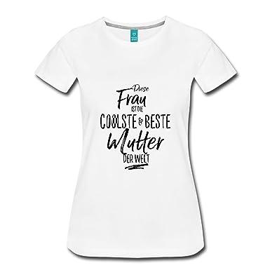 01fd00d15d36be Spreadshirt Coolste Mutter Lustiger Spruch Muttertag Frauen Premium T-Shirt:  Amazon.de: Bekleidung