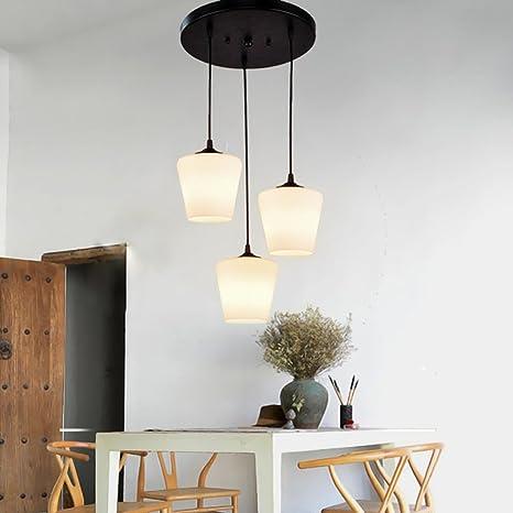 Modern techo Salón Lámpara Loft elegante esstischleuchte ...