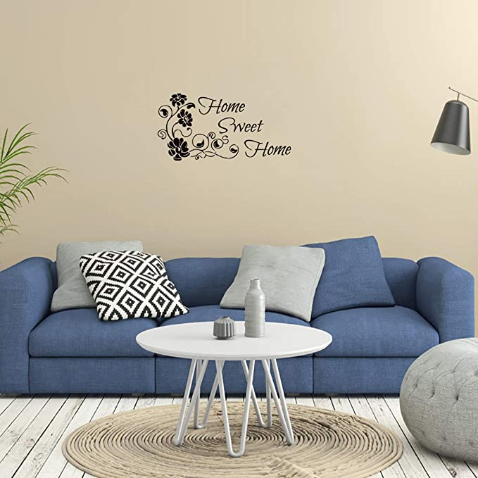 Wall Decal Home Sweet Home Living Room Wall Sticker In 5 Sizes /& 30 Colours