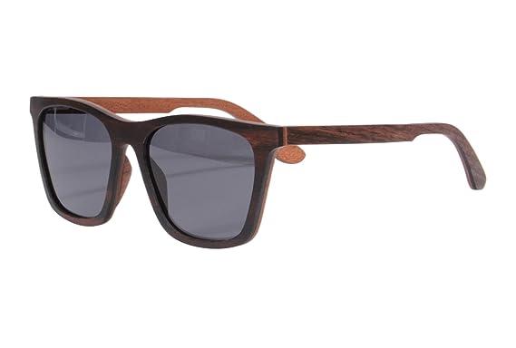 SHINU Ebenholz und Rote Sandelholz Sonnenbrille Polarisierte UV400 Schutzbrille-73022 AFeJfIdqjl