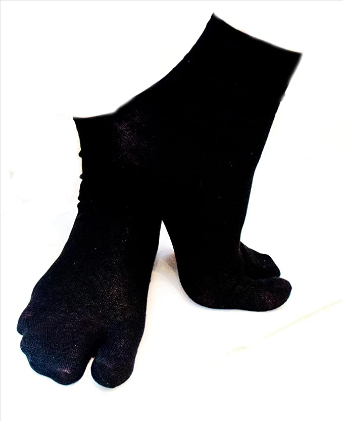 Ninja Tabi calcetines, Geisha, Kimono japonés negro 1 tamaño ...