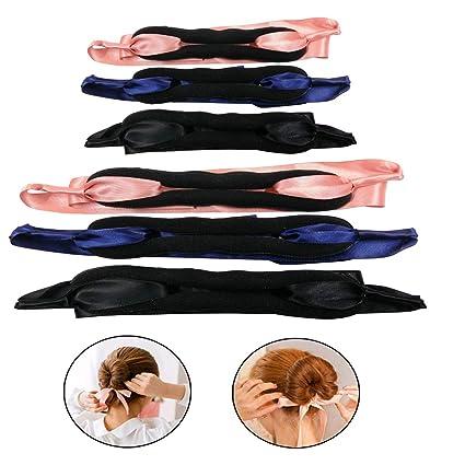 Mengger herramientas para hacer moños de pelo clip de Twist pelo ...