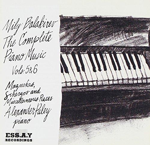 UPC 090998103227, Complete Piano Music 5 & 6