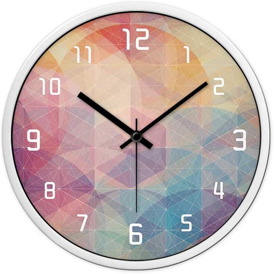Amazon Com Daliange Wall Clock Personalized Clocks Wall Clock Modern Muted Large Clock Quartz Clocks In Table 2 Home Kitchen
