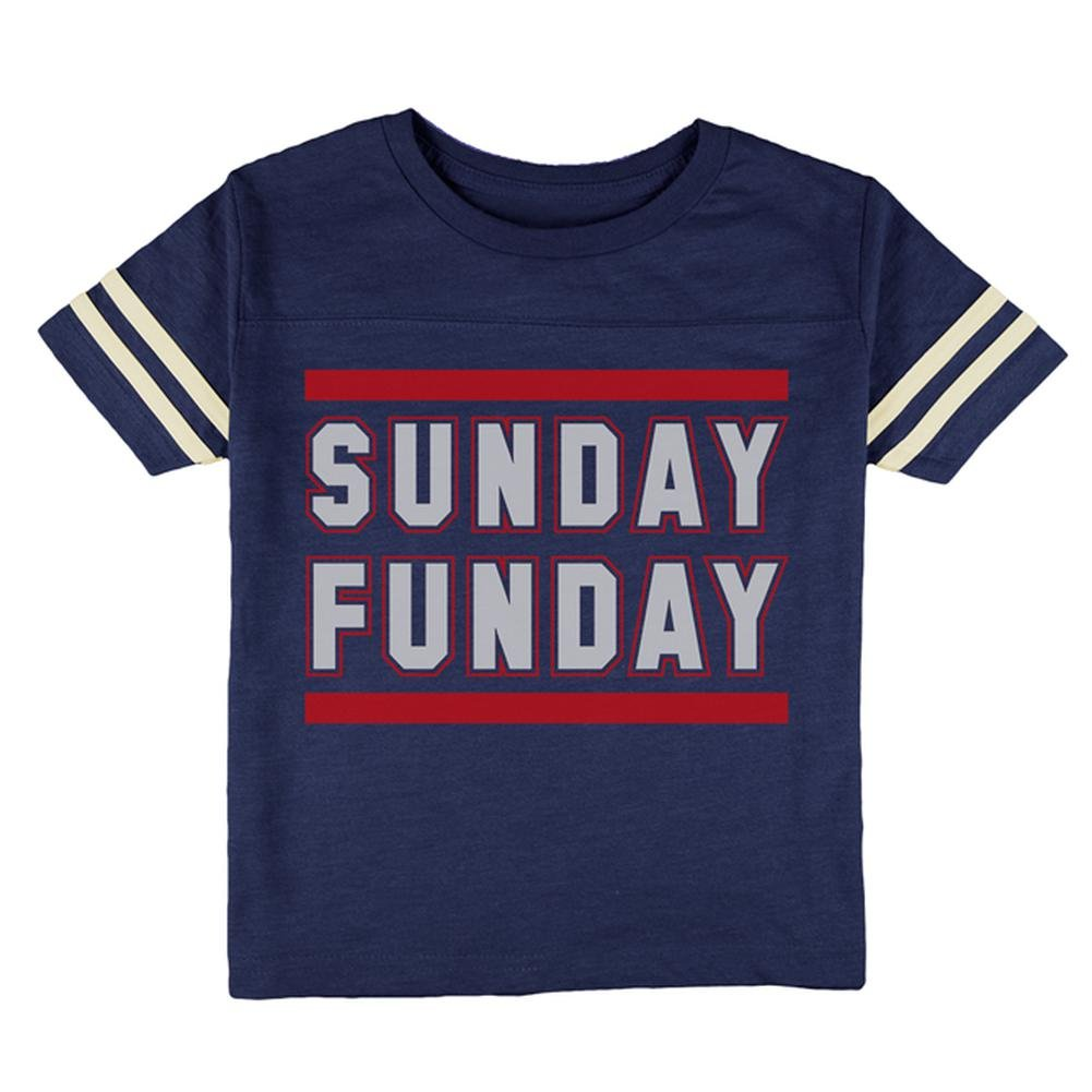 Sunday Funday New England Toddler Football T Shirt Old Glory 00185171