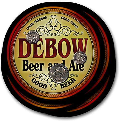 Debowビール& Ale – 4パックドリンクコースター   B003QXTVKS