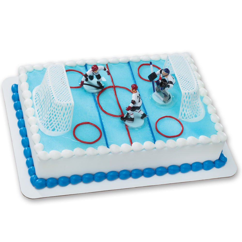 Ice Hockey Cake Decorating Kit : 100+ [ Ice Skating Cake Ideas ] Cake Walk Pink Roller ...
