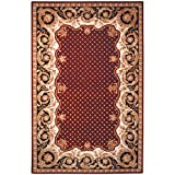Cheap Safavieh Naples Collection NA701A Handmade Multicolored Wool Area Rug, 9 feet by 12 feet (9′ x 12′)