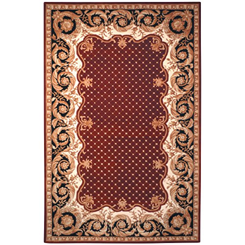 8' Naples Collection Rug (Safavieh Naples Collection NA701A Handmade Multicolored Wool Area Rug, 5 feet by 8 feet (5' x 8'))