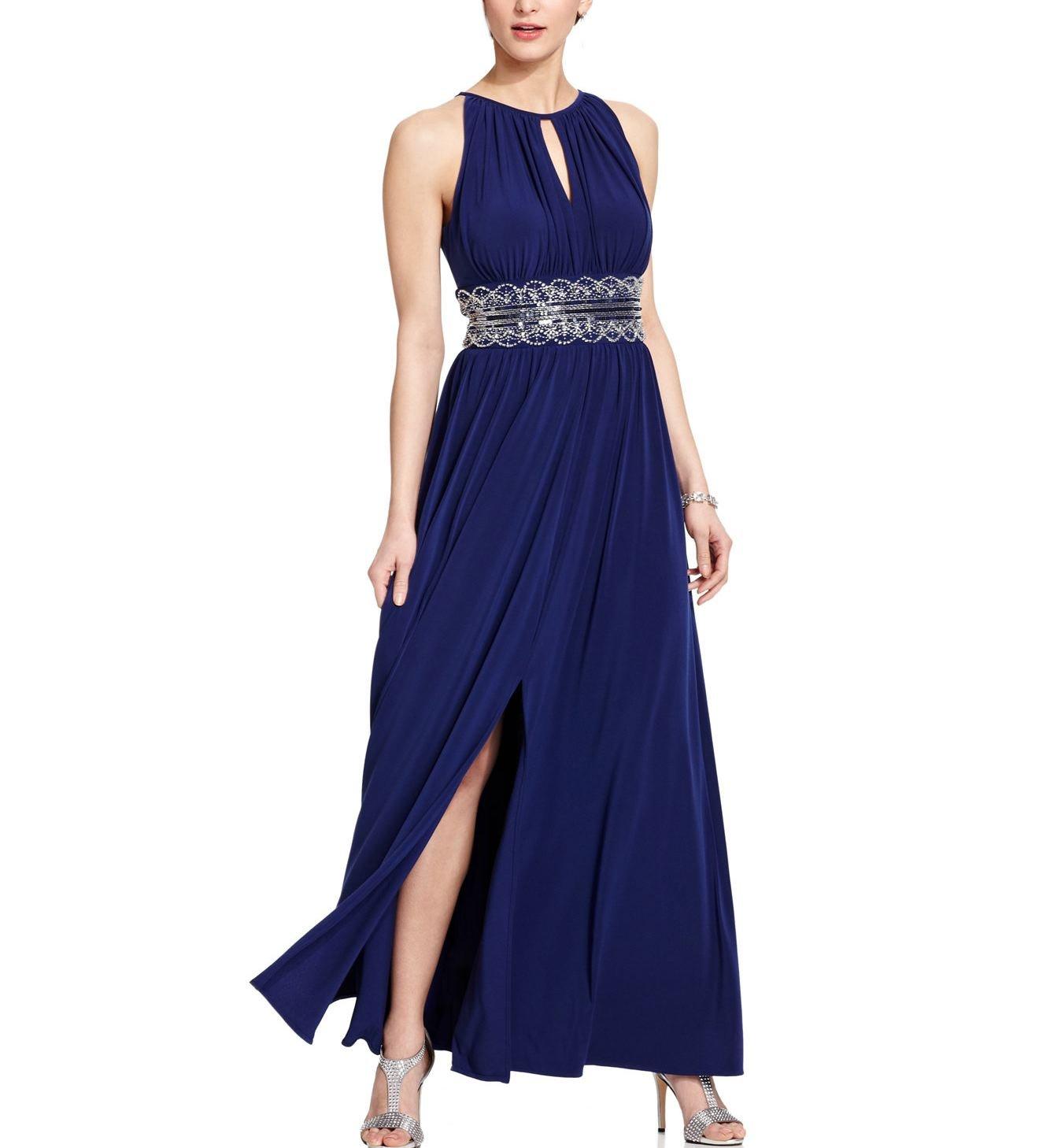 Amazon.com: RM Richards Women\'s Sleeveless Beaded Designer Evening ...