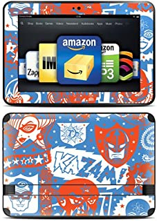 """product image for Kindle Fire HD 8.9"""" Skin Kit/Decal - Comic Hero (will not fit HDX models)"""