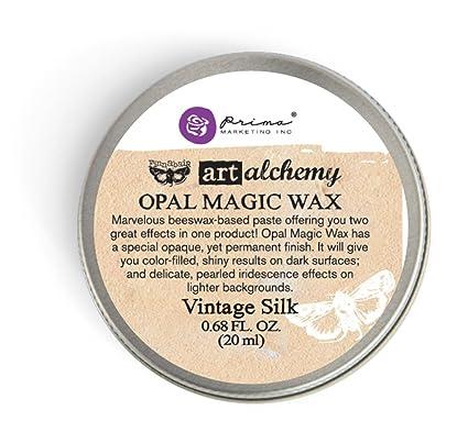 Prima Marketing Art Alchemy-Opal Magic Wax-Vintage Silk
