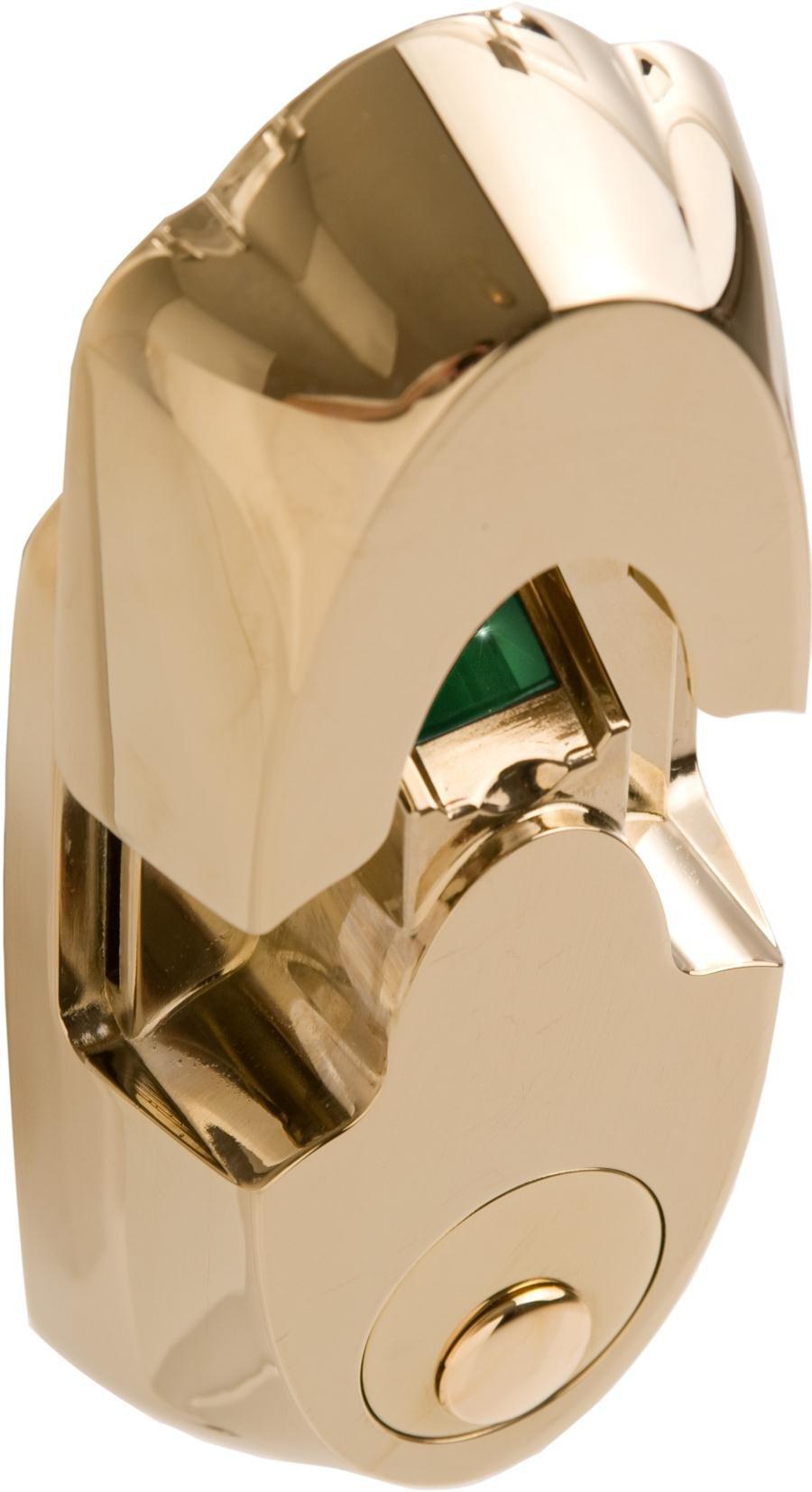Actuator Systems NextBolt EZ-Mount Biometric Deadbolt Lock Polished Brass