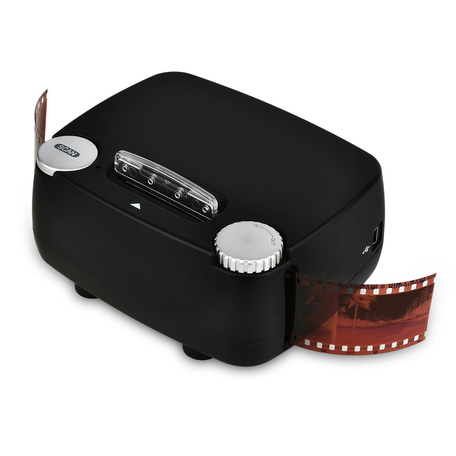 Slide & Film Scanner for 135 / 35mm Negative & Slide Digitizing, Compatible with Windows XP/Vista/ 7/8/10 by Rybozen (Image #6)
