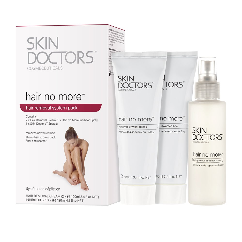 Skindoctors HairNoMorePack - Pack para depilación (1 unidad): Amazon.es: Belleza