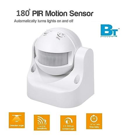 Blackt Electrotech PIR Sensor with Light and Energy Saving