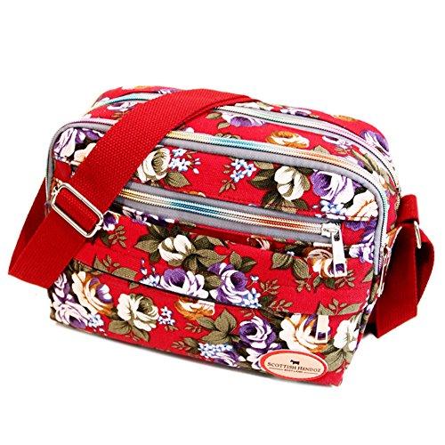 JD Million shop Fashion Printing Women Messenger Bags Canvas Bags Mummy Bag Ladies